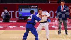 Judocanul Denis Vieru a obținut o victorie la Jocurile Olimpice de la Tokyo