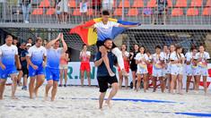 Moldova a urcat pe podium la Europenele de rugby plajă