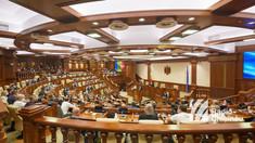 Igor Grosu de la tribuna Parlamentului: Noua majoritate parlamentară va promova inițiative în interesul cetățenilor. Partidului Șor va vota candidatura PAS