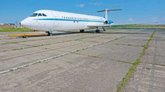 Avionul prezidențial al lui Ceaușescu, donat Muzeului Național al Aviației Române