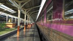 Bangkok este sufocat de noi cazuri de Covid-19. Pacienții din afara capitalei Thailandei sunt trimiși acasă în trenuri modificate