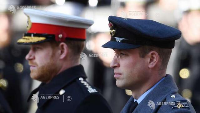 Prinții William și Harry se întâlnesc joi pentru a inaugura împreună o statuie dedicată mamei lor