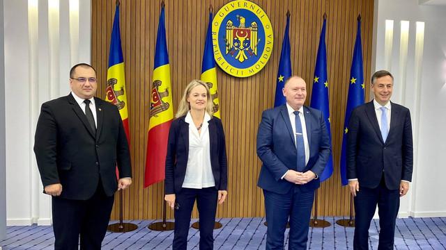 Aureliu Ciocoi a avut o întâlnire cu Misiunea de observatori a Parlamentului European