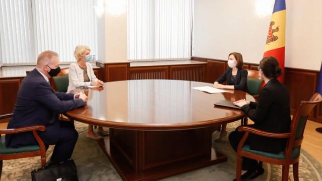 Președintele Maia Sandu s-a întâlnit cu Ambasadorul Confederației Elvețiene