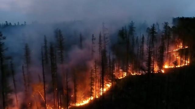 Anchetă pentru a stabili originea incendiilor care devastează insula Sardinia