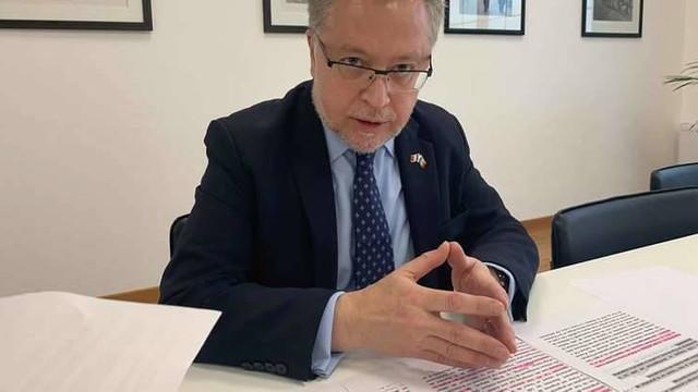 """Ambasadorul Franței în R.Moldova: """"Sperăm că va fi instituit rapid un nou Guvern"""""""
