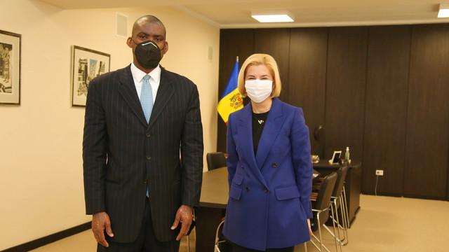 Bașcanul Găgăuziei, Irina Vlah, a avut o întrevedere cu ambasadorul SUA, Dereck J. Hogan