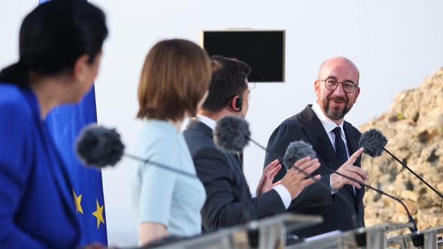 Charles Michel, promisiune făcută liderilor R. Moldova, Ucrainei și Georgiei: UE va rămâne un partener de încredere pentru regiunea dumneavoastră