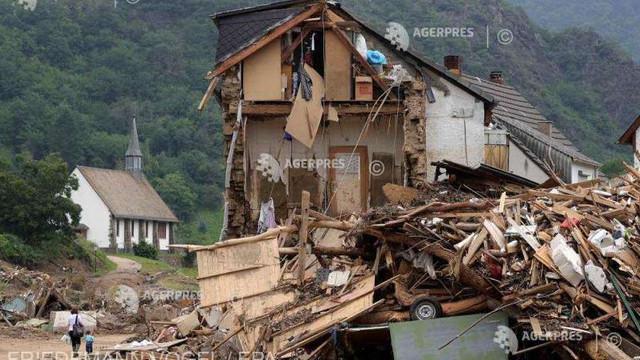 Guvernul german a aprobat un pachet de ajutor de urgență pentru victimele inundațiilor