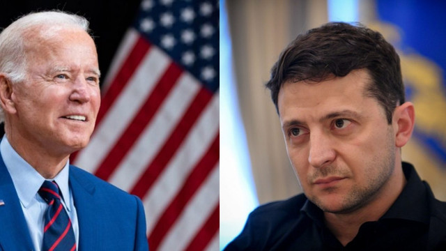 Președintele Joe Biden îl va primi la Casa Albă pe omologul său ucrainean la 30 august