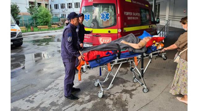 O moldoveancă a fost adusă cu SMURD-ul din Ucraina după ce a suferit un accident rutier