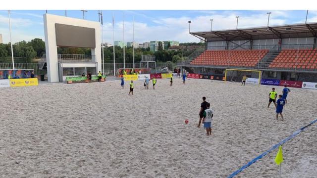 Republica Moldova va găzdui Campionatul European la fotbal pe plajă