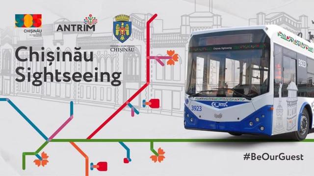 Troleibuzul turistic va circula astăzi, 14 octombrie, pe străzile capitalei