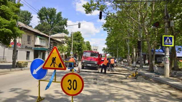 Traficul rutier pe strada Ion Creangă, suspendat în acest weekend. Circulația transportului public