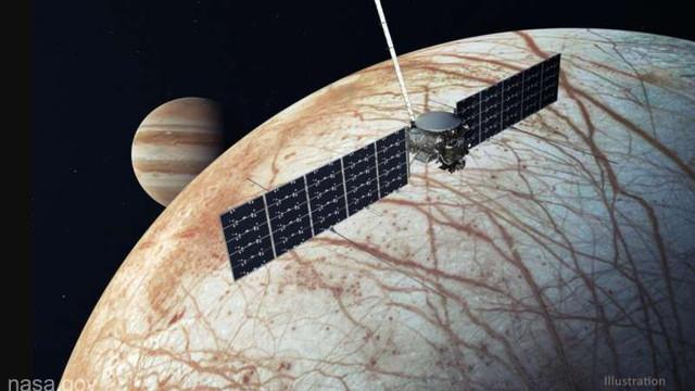 NASA va lansa în 2024 misiunea Europa Clipper spre Europa, luna înghețată a lui Jupiter