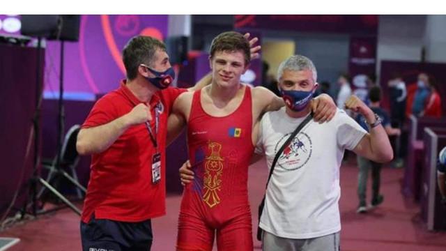 Un sportiv moldovean a devenit campion mondial la lupte greco-romane