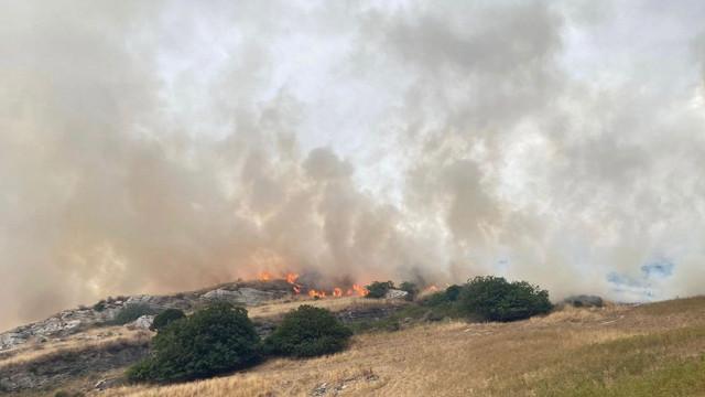 Incendii de vegetație în Sardinia. 1.500 de oameni au fost nevoiți să-și părăsească locuințele