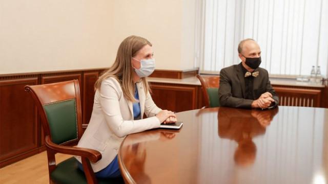 Ambasadoarea Suediei, Anna Lyberg, și-a încheiat misiunea diplomatică în R. Moldova