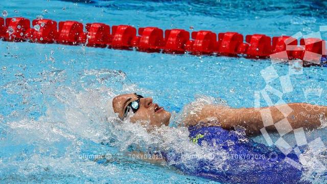Înotătoarea Tatiana Salcuțan s-a calificat în semifinale la Jocurile Olimpice de la Tokyo