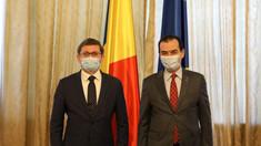 Șeful Legislativulu Igor Grosu a discutat cu președintele Camerei Deputaților din Parlamentul României, Ludovic Orban