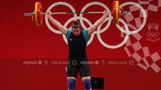 Halterofila Elena Cîlcic a ocupat locul 8 la Jocurile Olimpice de la Tokyo