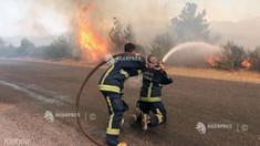Pompierii turci au reușit să oprească extinderea incendiului care a atins o centrală electrică