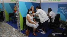 Israelul încurajează vaccinarea cu a treia doză, în pofida moratoriului cerut de OMS