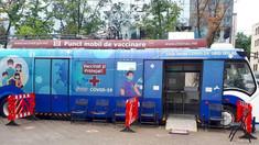 Unde vor fi astăzi amplasate cele două puncte mobile pentru vaccinare contra Covid-19