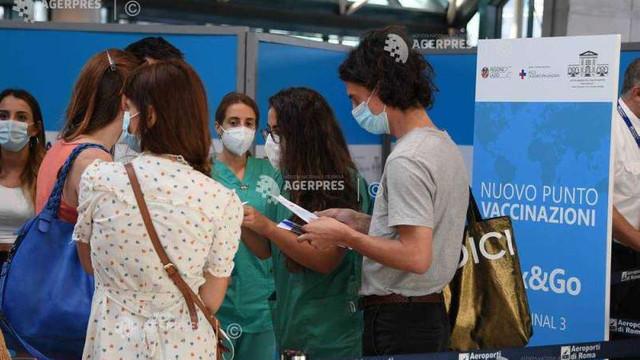 Italia a imunizat 60% din populația din categoria de vârstă de peste 12 ani