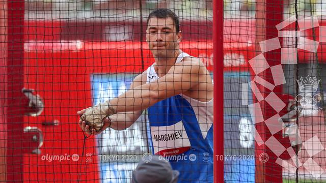 Serghei Marghiev s-a calificat în finala probei de aruncare a ciocanului la Jocurile Olimpice de la Tokyo