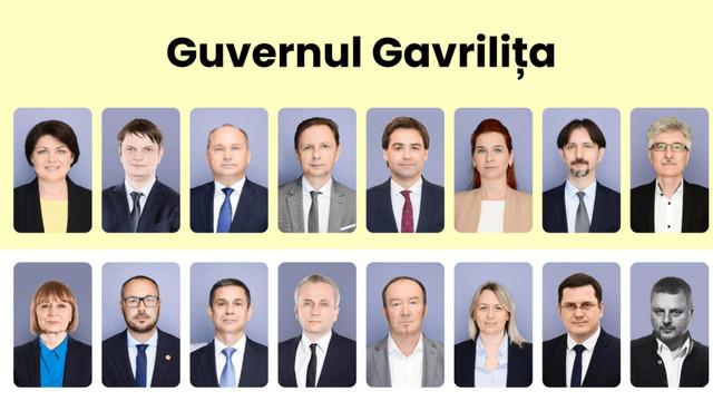 Natalia Gavrilița a prezentat viitoarea echipă guvernamentală