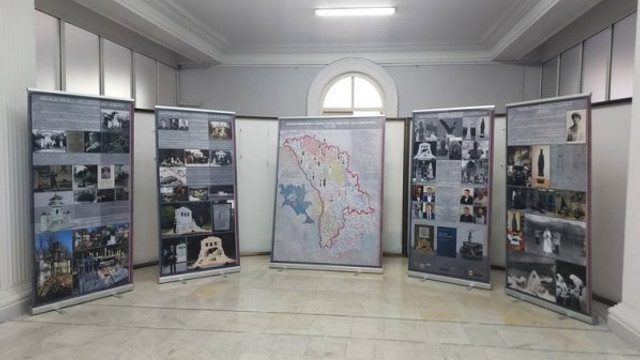 """Expoziția """"Monumentele Basarabiei Furate"""", vernisată la Muzeul Național de Istorie din Chișinău"""