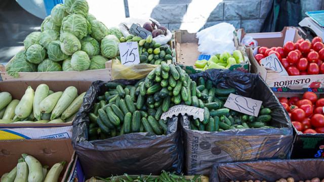 Iarmaroc cu produse agricole de sezon, la Piața Avicolă din capitală