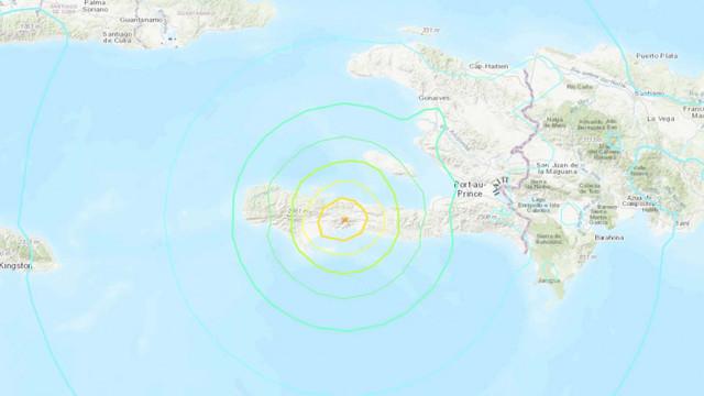 Cutremur de magnitudine 7,2 în Caraibe