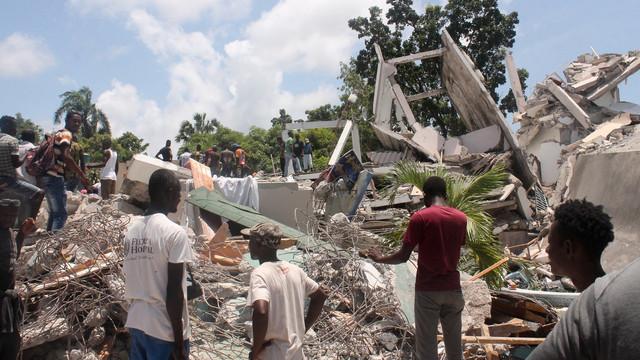 Bilanțul cutremurului din Haiti depășește 700 de morți