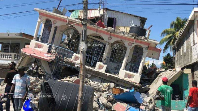 Cutremur în Haiti: Bilanțul a crescut la peste 1.400 de morți și 6.900 de răniți