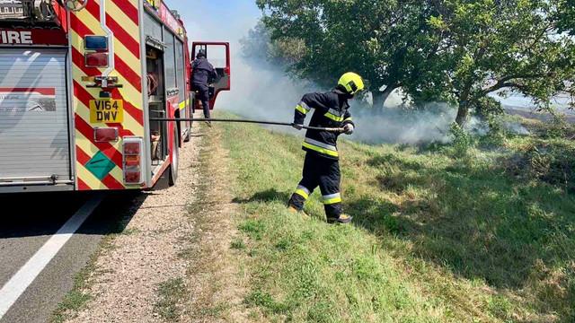 Circulația pe drumul Chișinău-Giurgiulești este închisă din cauza incendiilor de vegetație