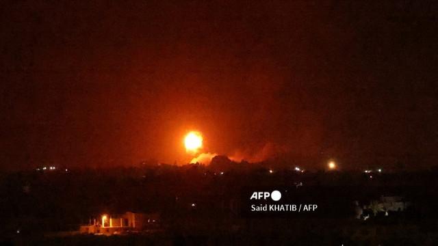 Israelul a bombardat obiective ale grupării Hamas, din Fâșia Gaza