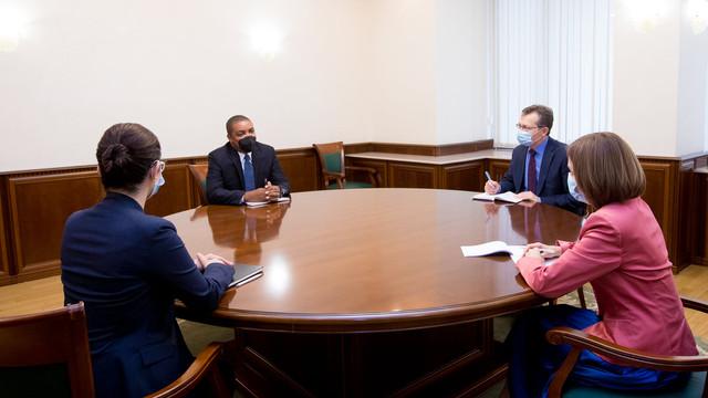 Maia Sandu a discutat cu reprezentantul FMI în R. Moldova despre un nou program al organizației pentru R. Moldova