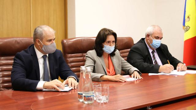 Ministrul Economiei a avut o întrevedere cu Șeful Oficiului Reprezentanței Permanente a Băncii Europene pentru Reconstrucție și Dezvoltare în R. Moldova