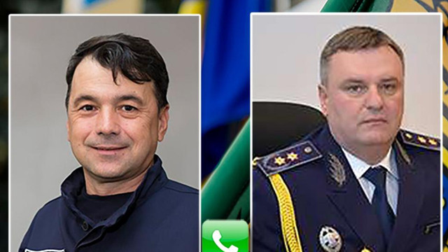 Șeful Poliției de Frontieră, Rosian Vasiloi, a discutat cu omologul său de la București, Liviu Bute. Principalele subiecte abordate