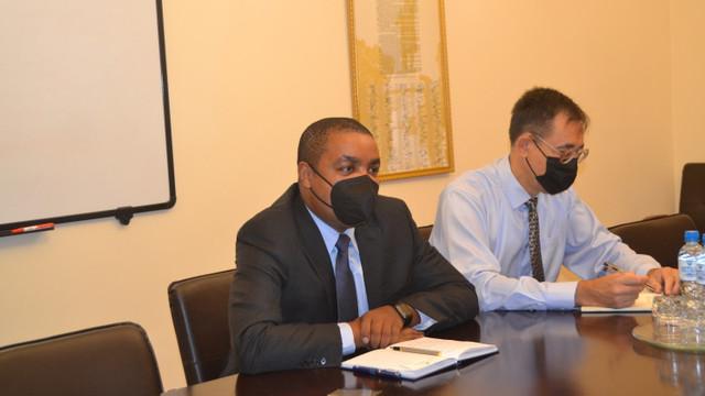 Ministrul Finanțelor a avut o întrevedere cu Reprezentantul FMI în R. Moldova