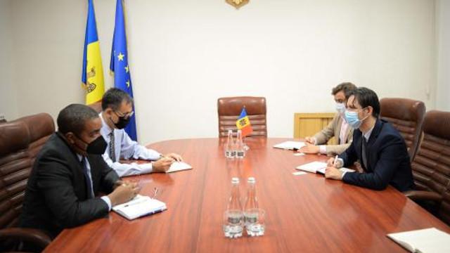 Ministrul Economiei a discutat cu reprezentantul FMI în R. Moldova