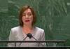 LIVE | Discursul președintei Maia Sandu în cadrul Adunării Generale a Organizației Națiunilor Unite