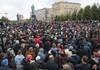 Sute de persoane protestează la Moscova, nemulțumite de modul de desfășurare a alegerilor parlamentare