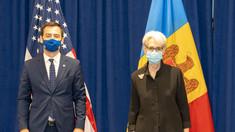 """Nicu Popescu după întrevederea cu Wendy R. Sherman, secretar de stat adjunct al SUA: """"Vom accelera, cu sprijinul SUA, reforma justiției și consolidarea instituțiilor din țara noastră"""""""