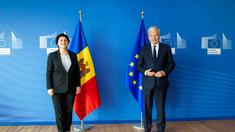 Natalia Gavriliță s-a întâlnit la Bruxelles și cu comisarul european pentru justiție, Didier Reynders