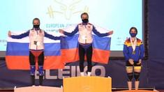 Halterofila Concordia Butnari a cucerit medalia de bronz la campionatele europene de juniori și tineret