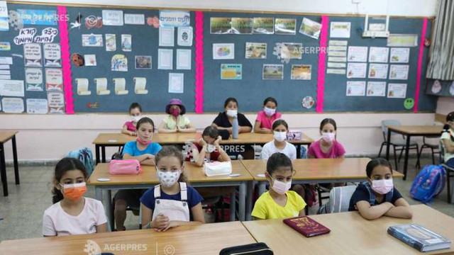 Elevii israelieni au revenit de miercuri în școli, odată cu introducerea unor măsuri sanitare suplimentare