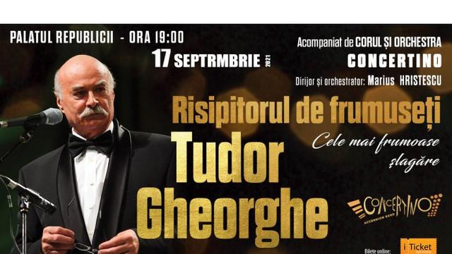Cântărețul Tudor Gheorghe va reveni cu un spectacol la Chișinău